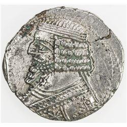 PARTHIAN KINGDOM: Phraates IV, c. 38-2 BC, AR tetradrachm (14.73g), Seleukeia on the Tigris, SE287.