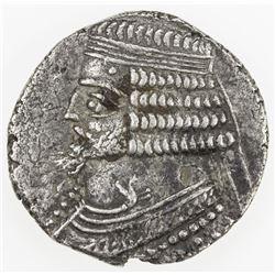 PARTHIAN KINGDOM: Phraates IV, c. 38-2 BC, AR tetradrachm (10.59g), Seleukeia, SE288 (=22/21 BC). VF