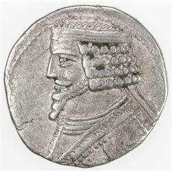 PARTHIAN KINGDOM: Phraates IV, c. 38-2 BC, AR tetradrachm (14.62g), Seleukeia on the Tigris, ND. F-V