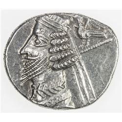 PARTHIAN KINGDOM: Phraates IV, c. 38-2 BC, AR drachm (4.03g), Rhagae. EF