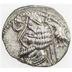PARTHIAN KINGDOM: Phraates IV, c. 38-2 BC, AR drachm (3.73g), the Court mint. VF-EF