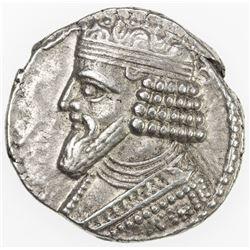PARTHIAN KINGDOM: Gotarzes II, AD 40-51, AR tetradrachm (14.63g), Seleukeia on the Tigris, SE362. VF