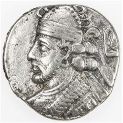 PARTHIAN KINGDOM: Pakoros II, AD 78-105, BI tetradrachm (14.19g), Seleukeia on the Tigris, SE404 (=