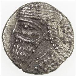 PARTHIAN KINGDOM: Vologases IV, AD 147-191, BI tetradrachm (6.20g), Seleukeia, Sel-499 (187/88 AD).