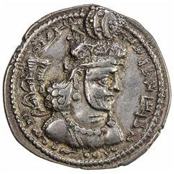 SASANIAN KINGDOM: Shahpur (Sabuhr) III, 383-388 AD (4.21g). VF