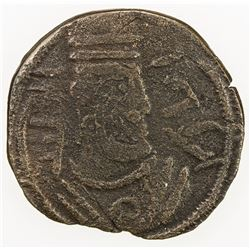 ARAB-SASANIAN: Anonymous, AE pashiz (1.41g), NM, ND. F