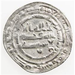 ABBASID: al-Mu'tadid, 892-902, AR dirham (2.76g), Arminiya, AH287. VF-EF