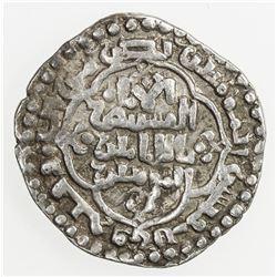 ABBASID: al-Mustansir, 1226-1242, AR dirham (2.94g), Madinat al-Salam, AH639. VF