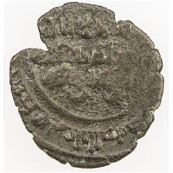 FATIMID: al-Musta'li, 1094-1101, BI dirham aswad (1.01g), MM, DM. F-VF