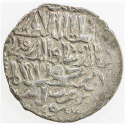 SELJUQ OF RUM: Qilij Arslan IV, 1257-1266, AR dirham (2.95g), uncertain mint, AH657 (in diwani symbo