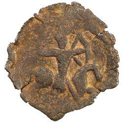 SELJUQ OF RUM: Mas'ud II, 1280-1298, AE fals (1.66g), NM, ND. F