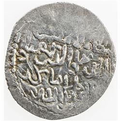 SELJUQ OF RUM: Kayqubad III, 1298-1302, AR dirham (2.30g), Burghlu, AH700. VF
