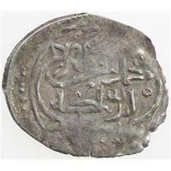 MENTESHE: Muhammad b. Ibrahim, 1359-1390, AR akce (0.88g), ND. VF