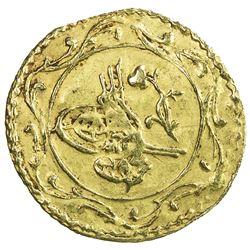 EGYPT: Mahmud II, 1808-1839, AV rubiya (0.35g), Misr, AH1223 year 22. VF