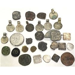 MEDIEVAL ISLAMIC: LOT of 26 miscellaneous pieces, retail value $300