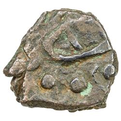POST-KUSHAN: Kota Bala Punjab tribe, 4th/5th century or later, AE unit (1.60g). VF-EF