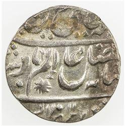 AWADH: AR rupee (11.07g), Allahabad, AH1211 frozen year 26. EF
