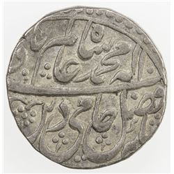 AWADH: AR rupee (11.06g), Asafabad, year 18. VF-EF