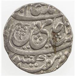 AWADH: AR rupee (10.99g), Asafabad, year 19. VF-EF