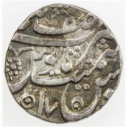 AWADH: AR rupee (11.16g), Asafnagar, AH1189 year 17. VF