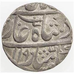 AWADH: AR rupee (11.04g), Asafnagar, AH1190 year 18. EF