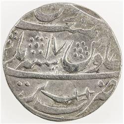 AWADH: AR rupee (10.86g), Bareli, AH(118)9 year 17. VF