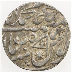 AWADH: AR rupee (11.12g), Muhammadabad Banaras, regnal year 25. EF