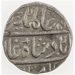 AWADH: Alamgir II, 1754-1759, AR rupee (11.39g), Najibabad, AH1168 year 3. EF