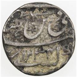 AWADH: Ghazi-ud-Din Haidar, 1819-1827, AR 1/2 rupee (5.30g), Lucknow, AH1234 year 26. F-VF