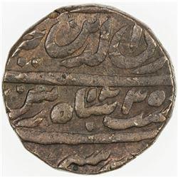 AWADH: Ghazi-ud-Din Haidar, 1819-1827, AE falus (12.05g), Lucknow, AH1235 year one (ahad). EF