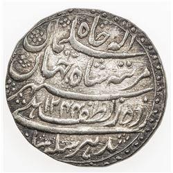 AWADH: Nasir-ud-Din Haidar, 1827-1837, AR rupee, Lucknow, AH1244 year 2. AU