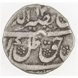 AWADH: Nasir-ud-Din Haidar, 1827-1837, AR 1/4 rupee (2.73g), Lucknow, year 8. F