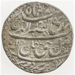 AWADH: Nasir-ud-Din Haidar, 1827-1837, AR rupee (11.17g), Lucknow, 1245 year 3. AU
