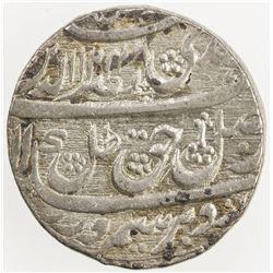 AWADH: Nasir-ud-Din Haidar, 1827-1837, AR rupee (11.06g), Lucknow, 1248 year 6. EF