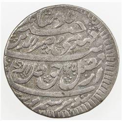 AWADH: Nasir-ud-Din Haidar, 1827-1837, AR rupee (10.92g), Lucknow, AH1250 year 7. VF