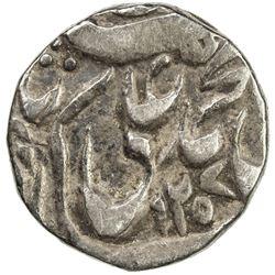 AWADH: Muhammad Ali Shah, 1837-1842, AR 1/8 rupee (1.37g), Lucknow, AH1257. VF