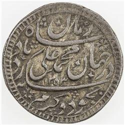 AWADH: Muhammad Ali Shah, 1837-1842, AR rupee (11.20g), Lucknow, AH1253 year 1. EF