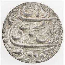 AWADH: Muhammad Ali Shah, 1837-1842, AR rupee (11.13g), Lucknow, AH1257 year 5. EF