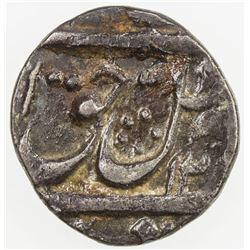 AWADH: Amjad Ali Shah, 1842-1847, AR 1/8 rupee (1.41g), Lucknow, AH126x. VF