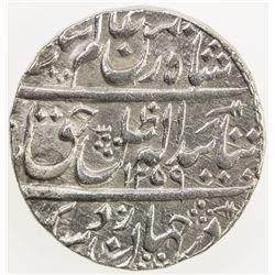 AWADH: Amjad Ali Shah, 1842-1847, AR rupee (11.14g), Lucknow, AH1259 year one (ahad). EF