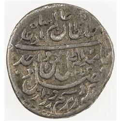 AWADH: Wajid Ali Shah, 1847-1856, AR 1/16 rupee (0.67g), Lucknow, AH1272 year 10. F