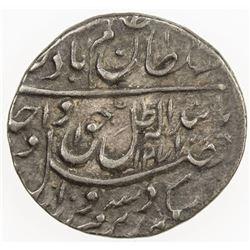 AWADH: Wajid Ali Shah, 1847-1856, AR 1/8 rupee (1.36g), Lucknow, AH1271 year 9. VF