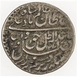 AWADH: Wajid Ali Shah, 1847-1856, AR 1/4 rupee (2.74g), Lucknow, AH1271 year 9. VF