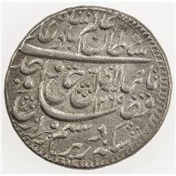 AWADH: Wajid Ali Shah, 1847-1856, AR rupee (11.14g), Lucknow, AH1265 year 2. EF
