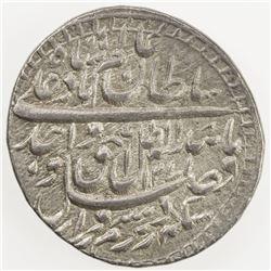 AWADH: Wajid Ali Shah, 1847-1856, AR rupee (11.13g), Lucknow, AH1271 year 8. EF