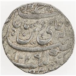"AWADH: Brijis Qadir, 1857-1858, AR rupee (11.13g), Suba, AH""1229"" year ""26"". VF-EF"