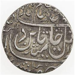 BHARATPUR: ALINAGAR: AR rupee (11.09g), Alinagar, year 23. VF-EF