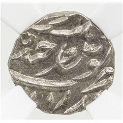 HYDERABAD: Mir Mahbub Ali Khan, 1868-1911, AR 1/16 rupee, AH1305. NGC MS65