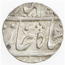 JAIPUR: AR 1/4 rupee (2.85g), Sawai jaipur, year 18. AU