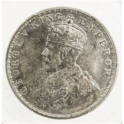 BRITISH INDIA: George V, 1910-1936, AR rupee, 1919 (b), KM-524, S& W-8.47, Prid-225, PCGS MS65
